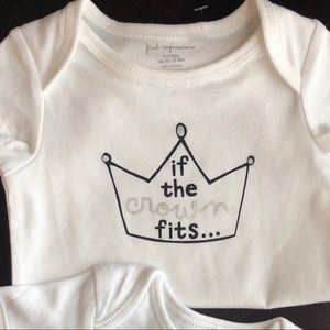 If the crown fits...onesie